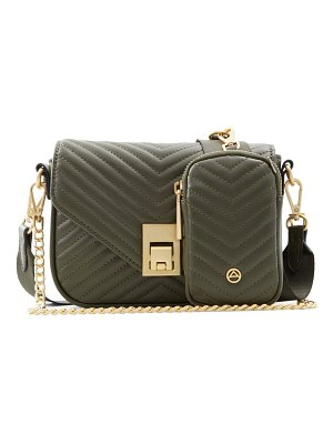 ALDO unilax sustainable crossbody bag in other green at nordstrom