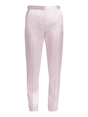 Alejandra Alonso Rojas silk satin trousers
