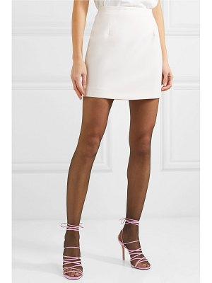 Alessandra Rich wool-crepe mini skirt