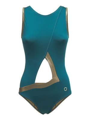 ALESSANDRO DI MARCO Cut out one piece swimsuit