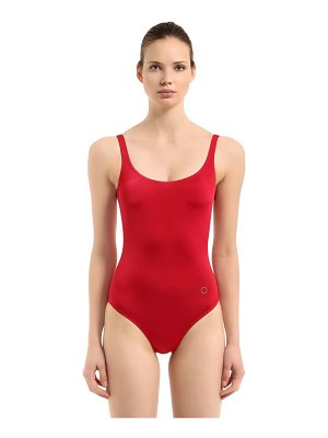 ALESSANDRO DI MARCO Low back one piece swimsuit