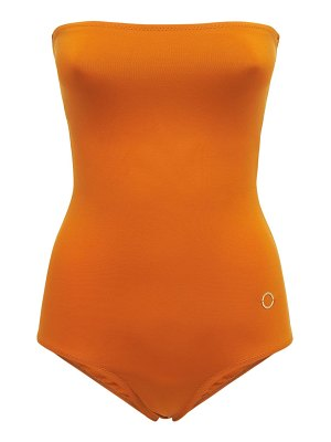 ALESSANDRO DI MARCO Strapless one piece swimsuit