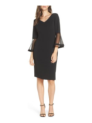 Alex Evenings embellished v-neck cocktail dress