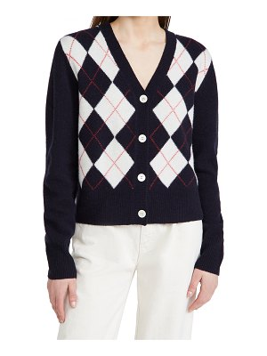 ALEX MILL bleecker argyle cardigan