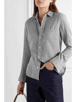 ALEX MILL cotton-voile shirt