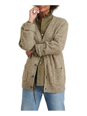ALEX MILL donegal wool blend cardigan