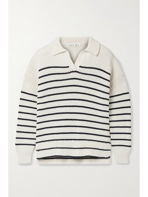 ALEX MILL jacques striped cotton sweater