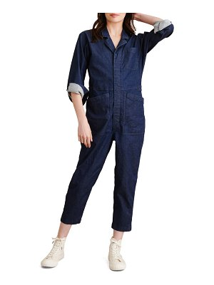 ALEX MILL long sleeve chambray jumpsuit