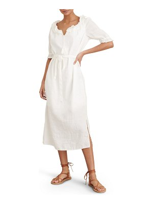 ALEX MILL regan linen midi dress