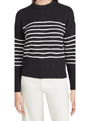 ALEX MILL scout texture sweater in stripe