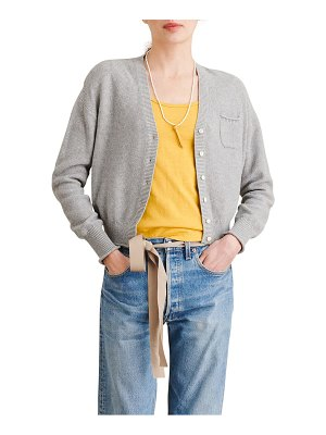 ALEX MILL seed pocket cardigan
