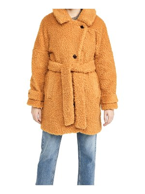 ALEX MILL sherpa officer peacoat