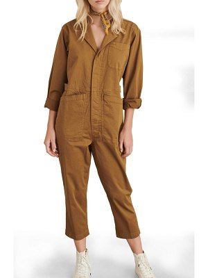 ALEX MILL stretch cotton jumpsuit