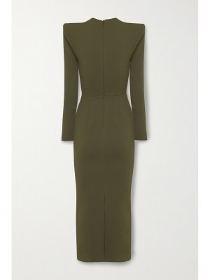 Alex Perry ambrose crepe midi dress