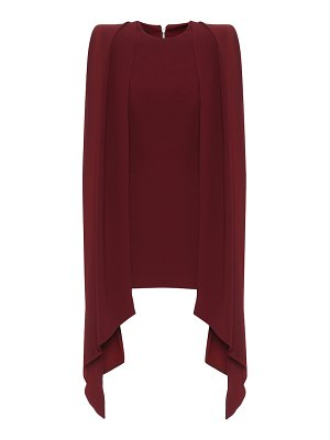 Alex Perry exclusive to mytheresa – crêpe cape minidress