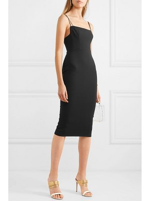 Alex Perry gabrielle stretch-crepe dress