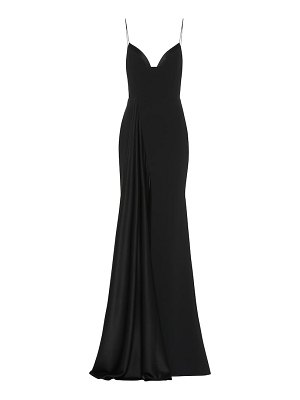 Alex Perry harlyn satin crêpe gown