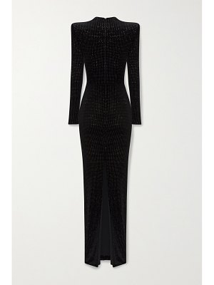Alex Perry houston glittered velvet gown
