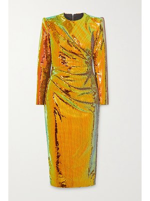 Alex Perry kelsey sequined crepe midi dress