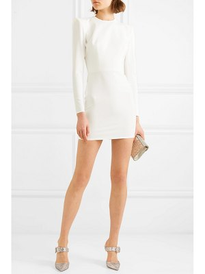 Alex Perry kira stretch-cady mini dress
