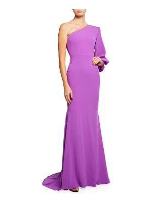 Alex Perry Marin One-Shoulder Gown
