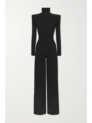 Alex Perry morgan cutout crepe jumpsuit
