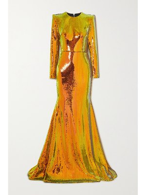 Alex Perry prescott sequined tulle gown