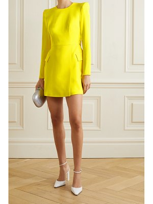 Alex Perry rae draped satin-crepe mini dress