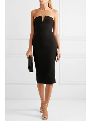 Alex Perry strapless stretch-crepe dress