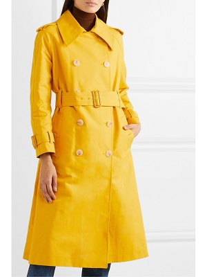 ALEXACHUNG cotton-gabardine trench coat
