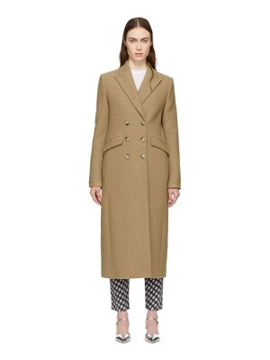ALEXACHUNG Double-Breasted Tailored Coat