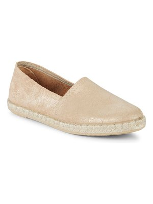 ALEX+ALEX Classic Leather Espadrilles