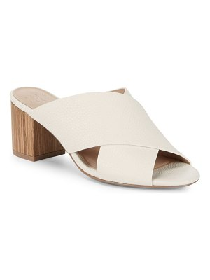 ALEX+ALEX Crisscross Leather Sandals