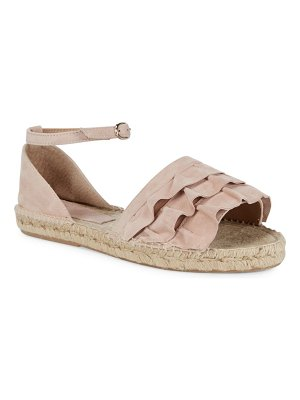 ALEX+ALEX Denim Ruffle Tier Espadrille Sandals