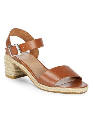 ALEX+ALEX Jute Heel Leather Sandals