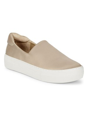 ALEX+ALEX Satin Platform Sneakers