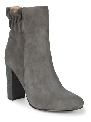 ALEX+ALEX Scrunch Back Suede Booties