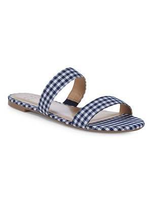 ALEX+ALEX Tammy Gingham Two-Strap Flats