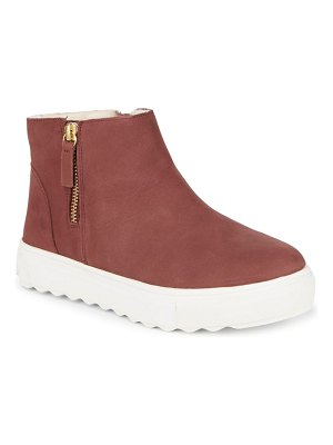ALEX+ALEX Thick Sole Hi-Top Sneakers