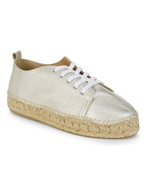 ALEX+ALEX Tumbled Leather Espadrilles
