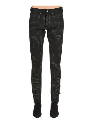 ALEXANDER DIGENOVA Ode to strip rock skinny denim jeans
