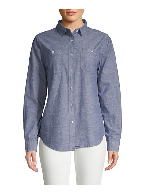 Alexander Jordan Classic Cotton Button-Down Shirt