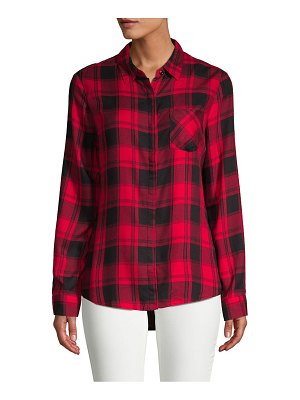 Alexander Jordan Classic Plaid Button-Down Shirt