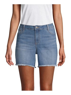 Alexander Jordan Frayed Denim Shorts