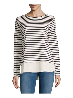 Alexander Jordan Stripe Long-Sleeve Top
