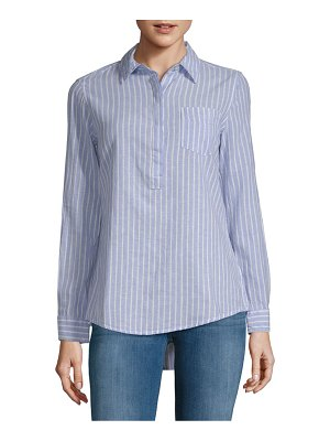 Alexander Jordan Striped Popover Shirt