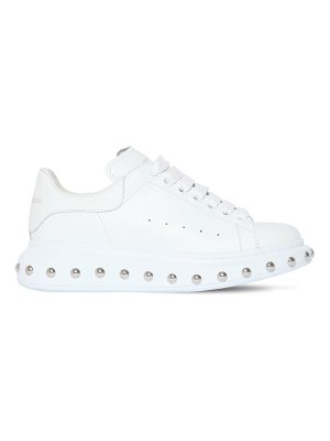 Alexander McQueen 40mm studded leather sneakers