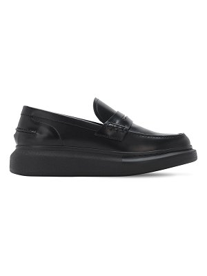 Alexander McQueen 45mm hybrid leather loafers