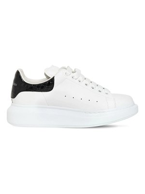 Alexander McQueen 45mm leather sneakers