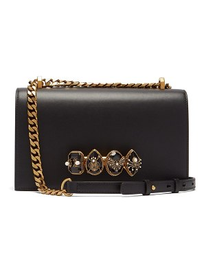 Alexander McQueen Alexander Mcqueen - Jewelled Leather Shoulder Bag